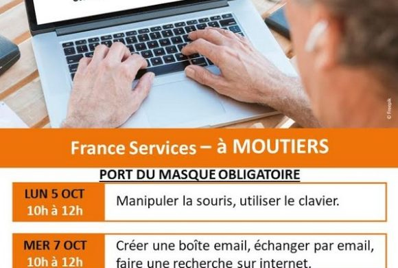 Ateliers informatique à Moutiers les Mauxfaits